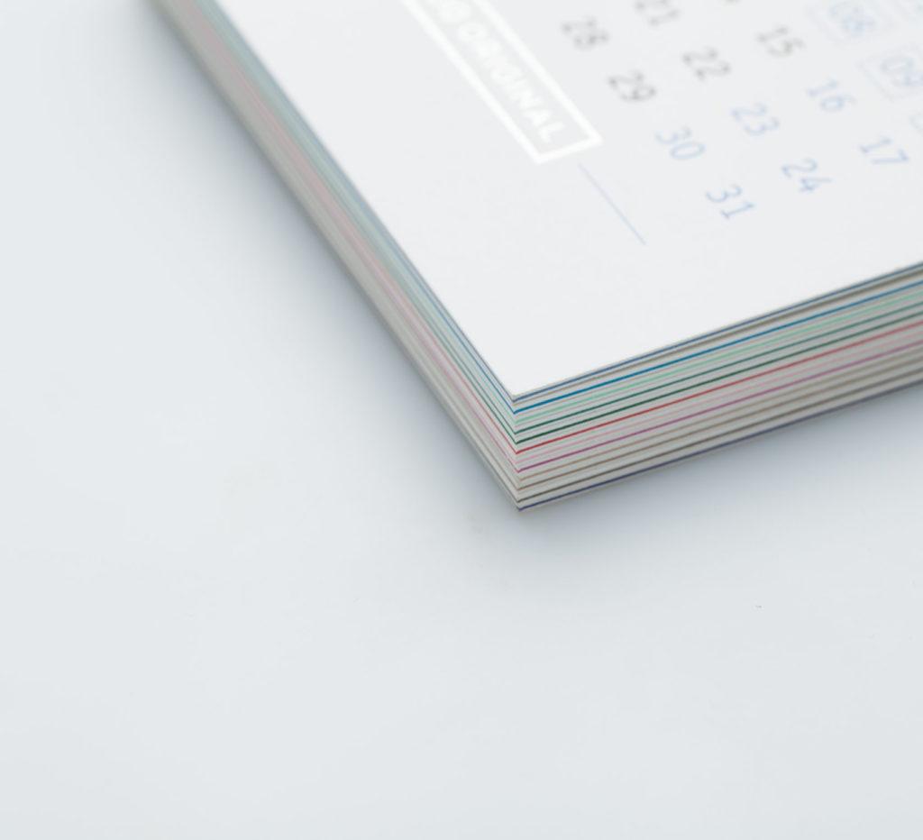 Трехслойный календарь