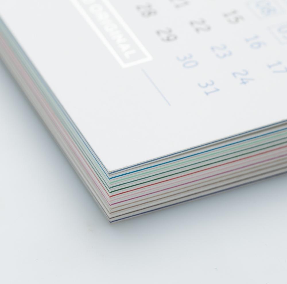 Календарь трехслойная бумага