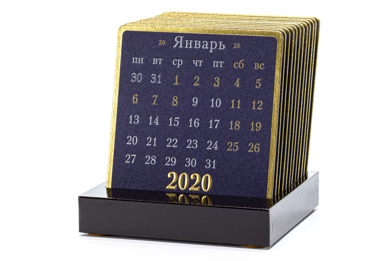 Календарь на подставке GRAND