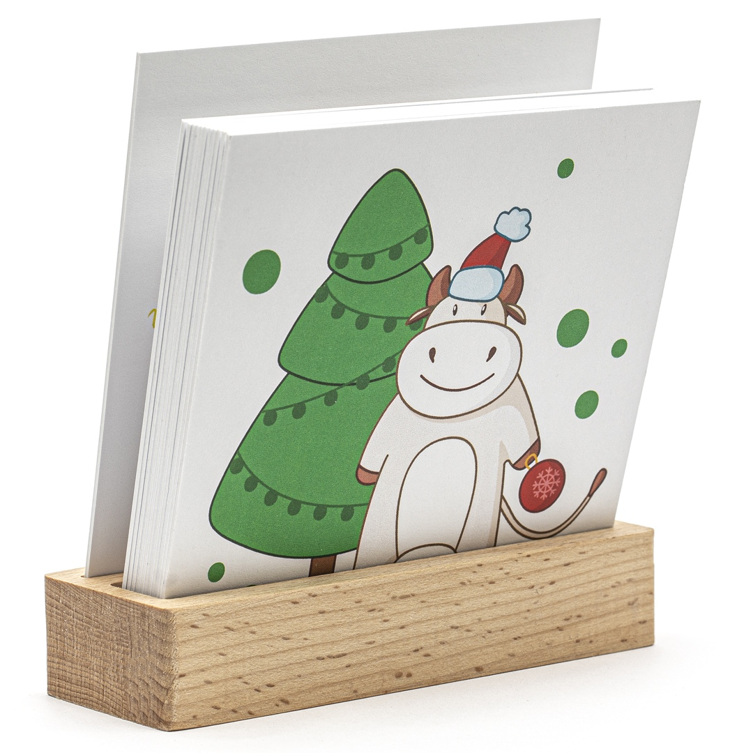 Календарь с карточками на подставке