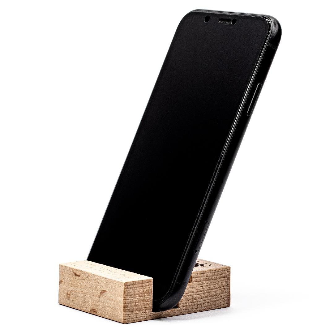 Подставка для телефона из бамбука