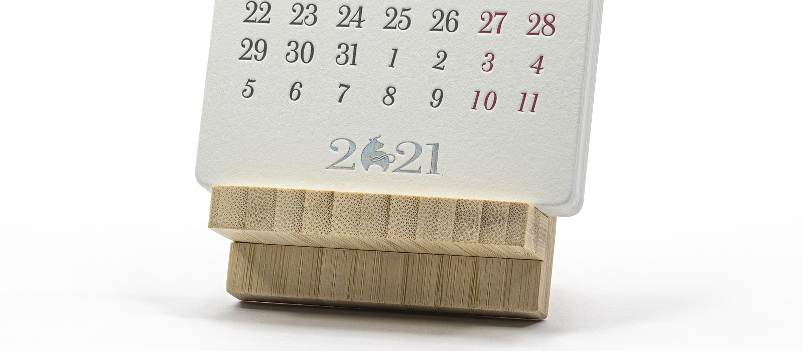 Высокая печать - календарь 2021
